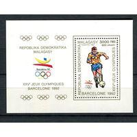 Мадагаскар (Малагаси) - 1990 - Летние Олимпийские игры - [Mi. bl. 125] - 1 блок. MNH.