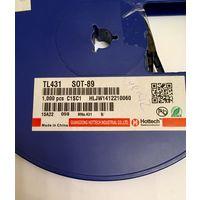 TL431 Источник опорного напряжения TL431CPK / SOT-89 ( цена за 6 штук - 1 р)