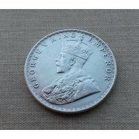 Британская Индия, 1 рупия 1919 г., серебро, Георг V (1910-1936)