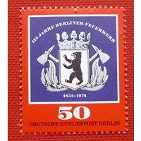 Германия. Западный Берлин. Герб. ( 1 марка ) 1976 года.