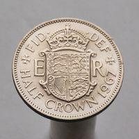 Великобритания 1/2 кроны 1967
