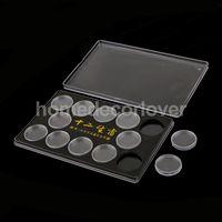 Коробка держатель для 12 монет в капсулах 25 мм.  распродажа