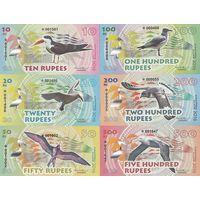Остров Альбатрос Набор 6 банкнот 2016 UNC