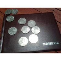 Альбом для монет на 72 крупные монеты!+ 2 монетки Бонус! Размер самого альбома 20,5х15см.