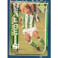 Карточка футбол Денилсон (Denilson) Реал Бетис