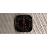 Стрэйт Сеттлменс 1 цент 1920/Стрэйтс(dic)