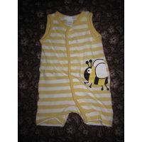 """Песочник H&M """"пчёлка"""" на новорожденного, р.50"""