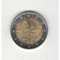 2 евро Литва 2017 Вильнюс