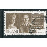 Бразилия. Визит великого герцого Люксембурского