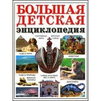 Большая детская энциклопедия.Большой формат.351 страница.