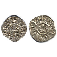 Грошен (1/24 талера) 1619, Германия, Липпе-Детмольд (графство). Дата по кругу