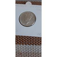 Малайя 20 центов 1939