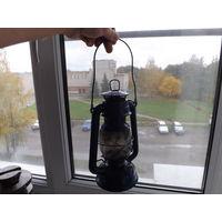 Старая лампа керосиновая,много лотов в продаже!!!