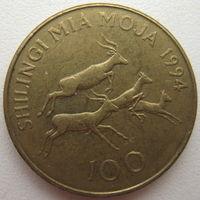 Танзания 100 шиллингов 1994 г. (d)
