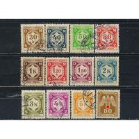 Германия Моравия и Богемия Служебные 1941-3 Номиналы Стандарт #1-3,5-12,13