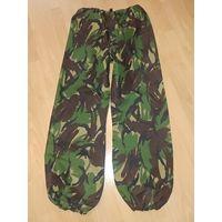 Влагозащитные, непромокаемые, мембранные (дышащие) штаны gor-tex, британской армии и НАТО MVP, woodland dp, новые!