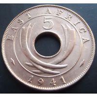 Восточная африка. 5 центов 1941