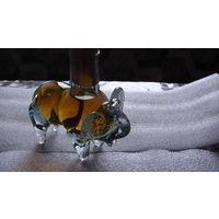 Бутылка фигурная (Слоник) 50 млл. стекло. 1 распродажа
