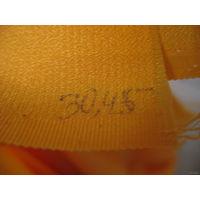 Возможно ацетатное волокно, винтаж 70-х СССР, 3х1 м, цвет деревенского яичного желтка, красивый