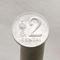 Литва 2 цента 1991