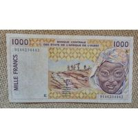 Сенегал 1000 франков