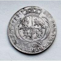 8 грош-2 злотых 1753 R2 Август III