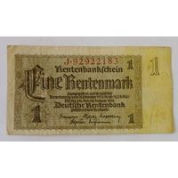 1 марка 1937г. Германия.
