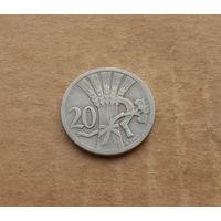 Чехословакия, 20 геллеров 1926 г.