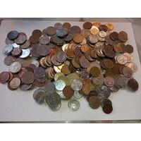 1 килограмм монет всего мира   (2)