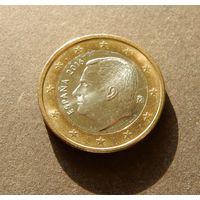 1 евро 2016 Испания