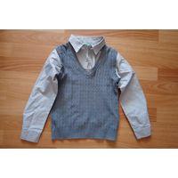 Рубашка школьная (обманка)