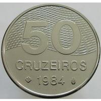 Бразилия 50 крузейро 1984 (328)