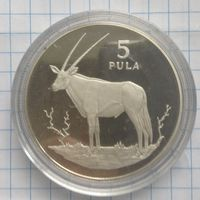 Ботсвана 5 пула 1978г (серебро)