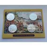 ПОРТУГАЛИЯ  4 монеты по 200 эскудо 1999 г.