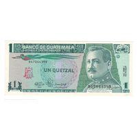 Гватемала 1 кетцель 1990 года. Состояние UNC! Нечастая!