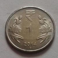1 рупия, Индия 2014 г.