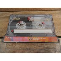 Кассета TDK D90 (Type I), записано: С. Прокофьев. 3-й концерт для ф-но с орк. (М. Аргерих)/ Г. Холст. Планеты