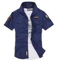 Рубашка мужская - S. НОВАЯ. Стиль ВВС Италии