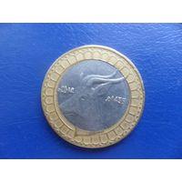 Алжир 50 динар 2014 г.