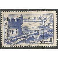 Французское Марокко. Форт Удайя. 1939г. Mi#157.