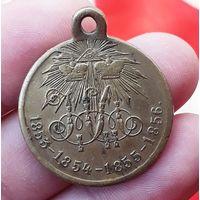 Медаль Крымская Война 1856 Состояние