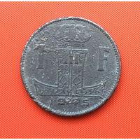 Бельгия, 1 франк 1945 г. Фламандский тип. Распродажа!