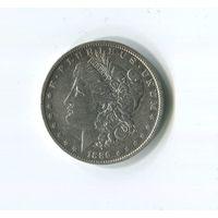 Морган доллар 1889 о.