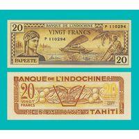 [КОПИЯ] Таити 20 франков 1944 г.