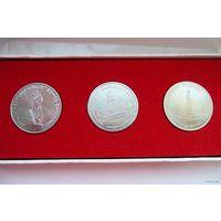 Сувенирный набор. Памятные медали (ГДР)