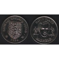 Official England Squad. Midfield. David Platt -- 1996 Official England Squad (f06)