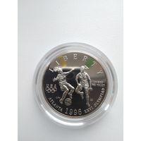 50 c USA 1996 - женcкий футбол ,цена включает доcтавку