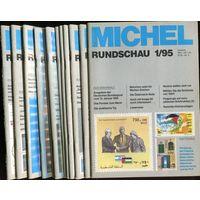 Michel Rundschau. Годовой комплект 12 номеров за 1995