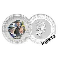 Острова Кука 2 доллара, 2007 год. Шерлок Холмс