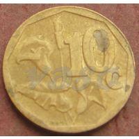 4685:  10 центов 2003 ЮАР